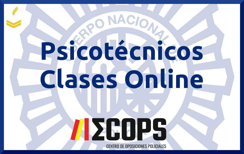 Curso Psicotécnicos con Clases Online Escala Básica 37